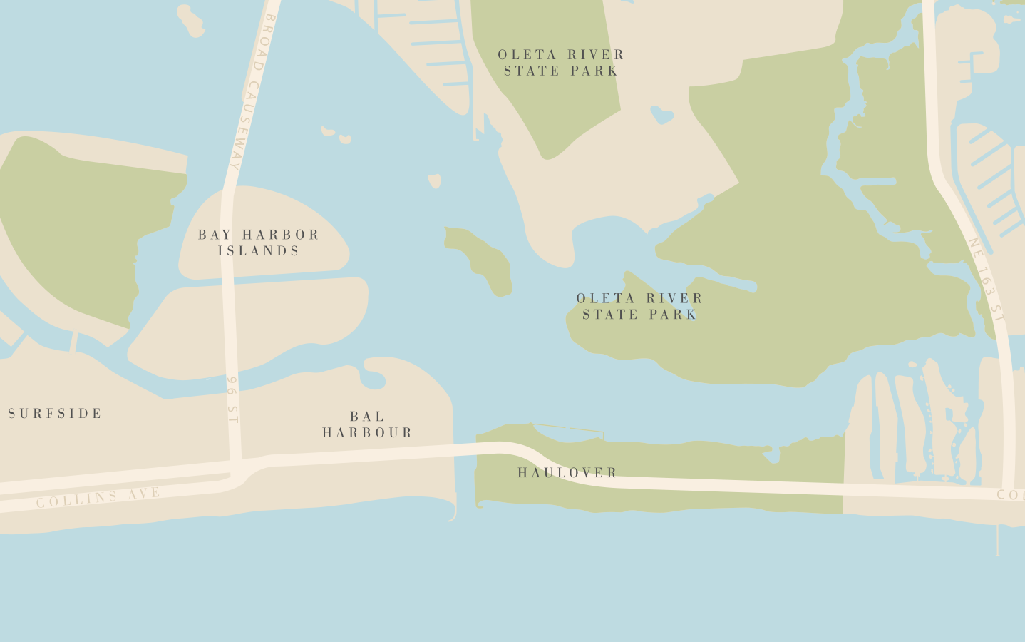 bijou-bay-harbor-on-map